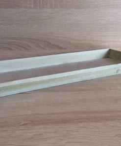 Holz-Tablett 39x15x2,5cm, grün EAN-Nr. 4039112101080