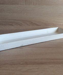 Holz-Tablett 35x11,5x2,5cm, weiß EAN-Nr. 4039112101790