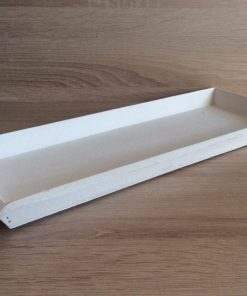 Holz-Tablett 39x15x2,5cm, weiß EAN-Nr. 4039112101806