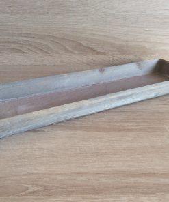 Holz-Tablett 35x11,5x2,5cm, grau EAN-Nr. 4039112102278