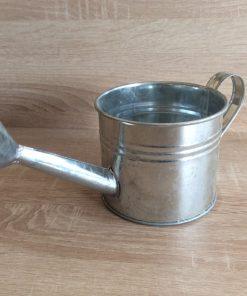 Metall-Gießkanne 11x9cm, zink/natur EAN-Nr. 4039112160544